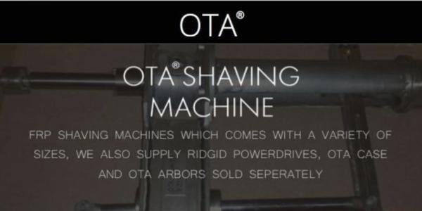 Shaving Machine - OTA Fiberglass